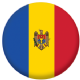 Moldova Country Flag 25mm Pin Button Badge